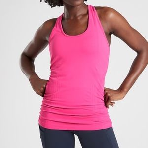 Athlete Speedlight Racerback Tank in Azalea Pink